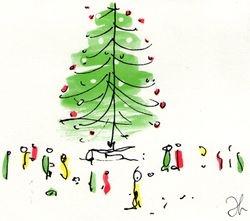 Yoko Ono Christmas 1992 front