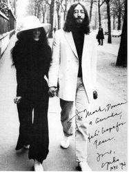 Yoko Ono Christmas 1994