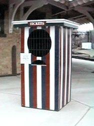Danbury Fair Ticket Booth