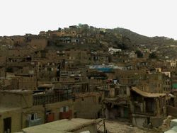 Houses on the hill