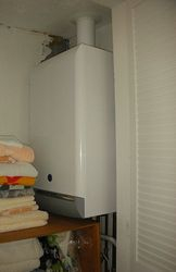 Condensing Boiler Fitted
