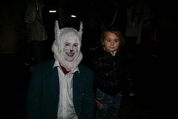 Marko & a White rabbit fan