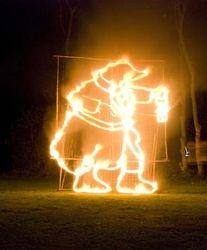 Moley Fire Sculpture