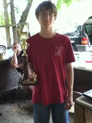 Christopher Clark - 1st Place - Junior Bowhunter