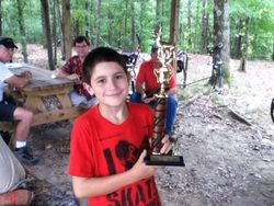 Lucas Kirkland - 1st Place - Youth Bowhunter