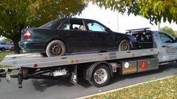 Car that will burn.
