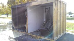 Rooms after burn