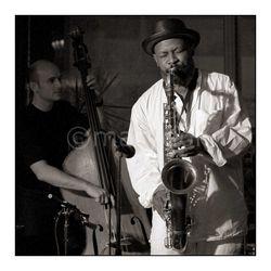 David Salesse & Jean-Jacques Elangué - Festival Jazz Entre Les Deux Tours La Rochelle -  jam à l'Avant-Scène