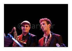 Olivier Temime & David Prez - Tenor Sax Generation -  Festival Jazz Entre Les Deux Tours La Rochelle -  Espace Encan