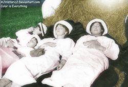 Maria and Sisters Napping