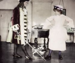 Maria and Anastasia Acting