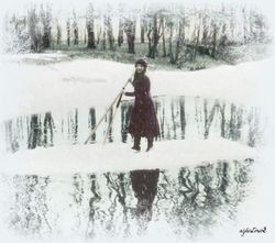 Maria in the Snow