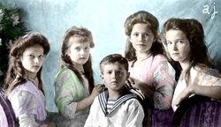 Tatiana, Anya, Alexei, Mashka, Olga