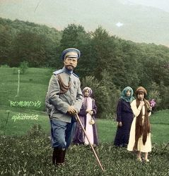 The Tsar and his girls