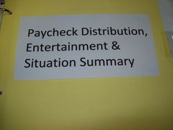 Paychecks, Entertainment, and Situations