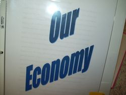 We discuss our current economy!