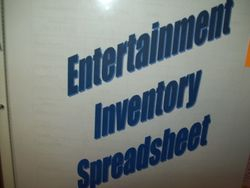 Personal Entertainment Inventory