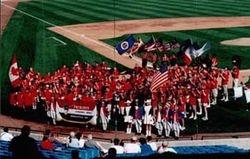 Band At Sky Sox Game