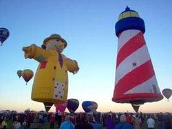 Scarecrow & Lighthouse