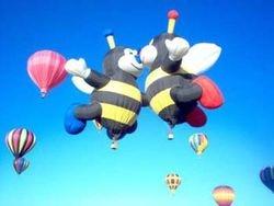 Albuquerque Balloon Fiesta in October 2006