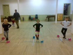 our new big girl swords!!