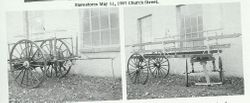Original Pics of our old hose and ladder carts