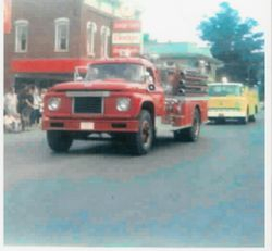 1969 Ford Seagraves Pumper