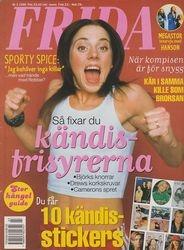 Frida - Nr 3 1998 (Feb) - Sweeden