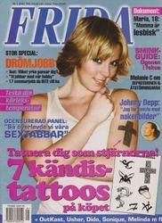 Frida - March 2001 - Sweeden