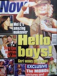 Now - 17 Oct 2001 - UK