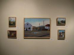Installation view at McGuffey Art Center