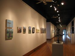Installation view at McGuffey