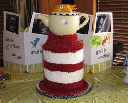 Dr. Seuss' Cat in the Hat with Fish in the Teapot