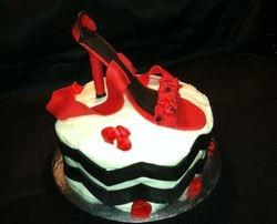 High Heel Cake