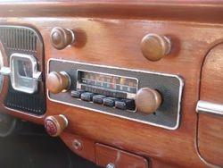 empi tiger wood knobs and radio