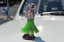 hula dog from my wifes ride