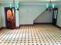 Tiled Flooring in shop