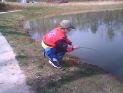 i made my own fishing rod