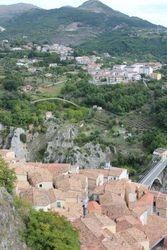 tile rooftops in Muro Lucano