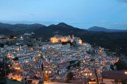 Nightview of Muro Lucano