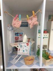 Bunny Towers laundry.