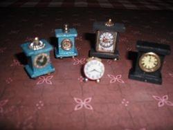 Some clocks I made.
