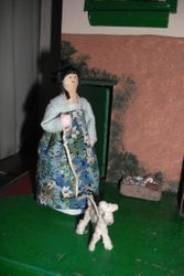Hand crafted peg doll by Diane.
