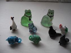 Glass animals.