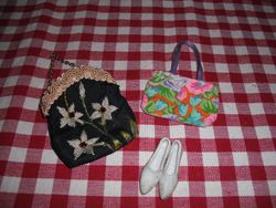 Bags and shoes from my 4 room box-back