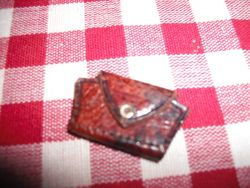 Hand made purse.