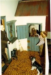 Stable at Tyddyn Phoebe