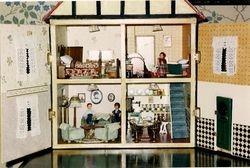 Inside Jean's house