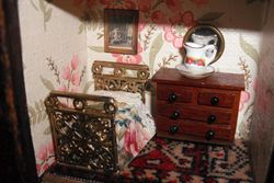 Bedroom of mouse house.