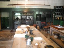 real kitchen.
